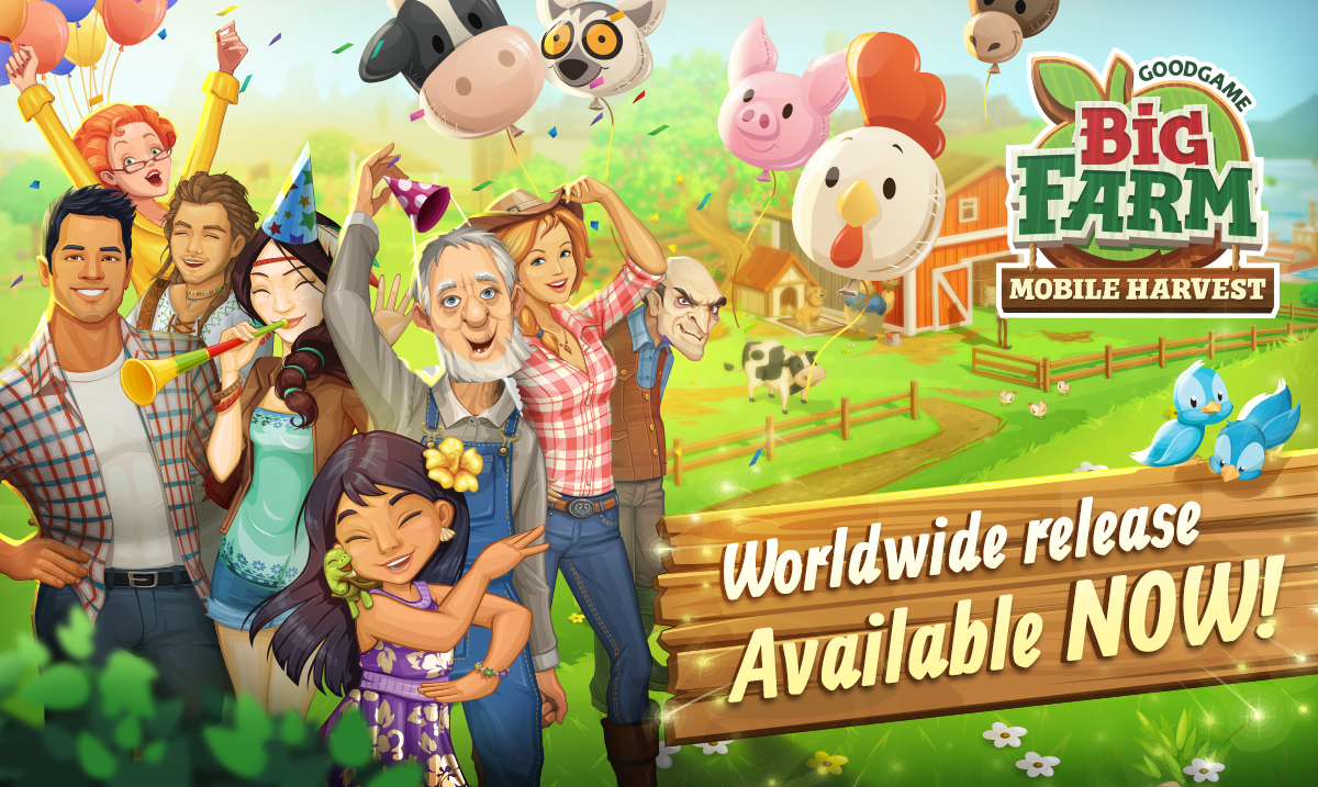 Goodgame Big Farm: Mobile Harvest