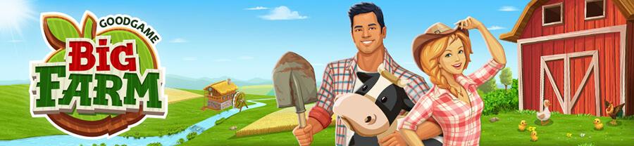 Big Farm  Soporte de Goodgame Studios